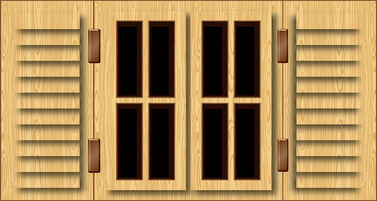 Window Wood Glass Frame Shutters  - 7089643 / Pixabay
